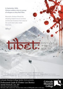 Tibet: Murder in the Snow movie poster.