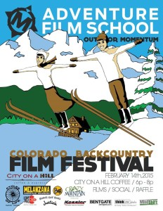 poster for Backcountry Film Festival